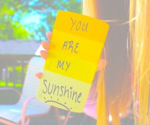 sunshine, tumblr, and quote image
