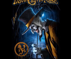 clown, crazy, and icp image