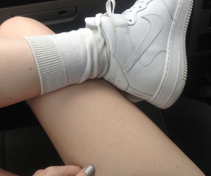 nike, pale, and withe image