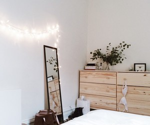 room, lights, and white image