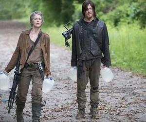 the walking dead, twd, and carol image