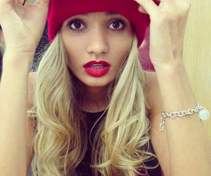 girl, pia mia, and blonde image