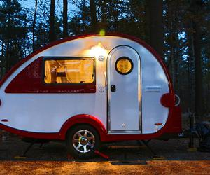 small camper vans, toy haulers for sale, and small trailer camper image