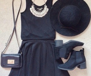 bags, black, and dresses image