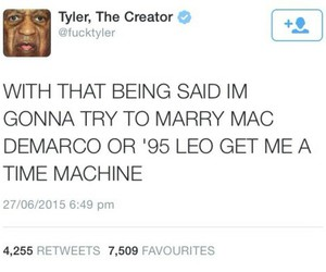haha, text, and tyler the creator image