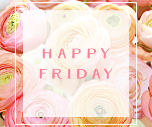 flowers, friday, and pink image