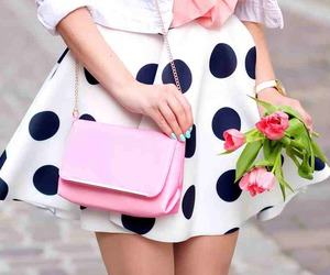 fashion, skirt, and girly image
