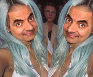 kylie jenner, blue hair, and blue image