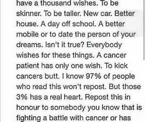battle, cancer, and dreams image