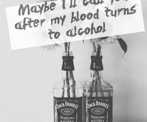 alcohol, boho, and dark image