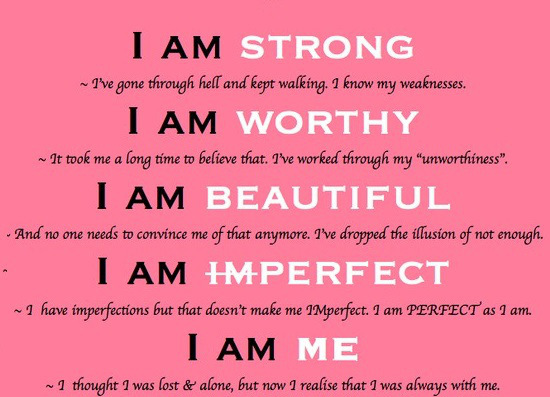 I am strong shared by Kat E on We Heart It