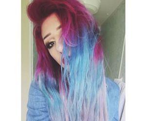 alt girl, mermaid, and red hair image