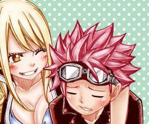 Lucy and natsu image