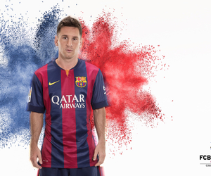 messi, fcb, and blaugrana image