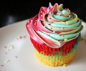 cupcakes, sugar, and colorful image