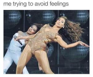 feelings, funny, and joke image