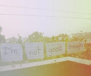 good, not, and rain image