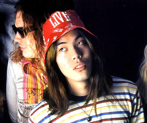 billy corgan, james iha, and jimmy chamberlin image