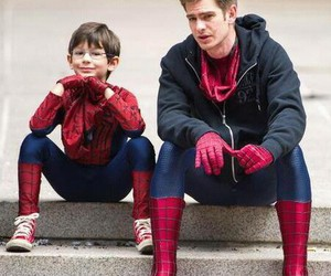 spiderman, andrewgarfield, and theamazingspiderman image
