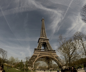 beautiful, clouds, and effiel tower image