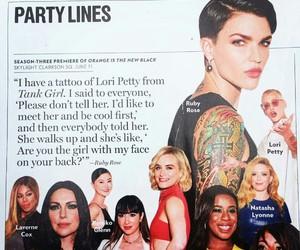 tank girl, tatoo, and ruby rose image