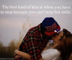 kiss, quote, and love image