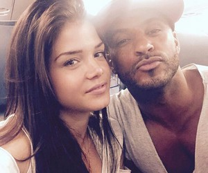 the 100, ricky whittle, and marie avgeropoulos image