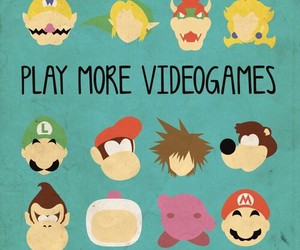 mario, videogames, and games image
