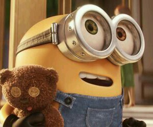 bear, minion, and dispicable me image