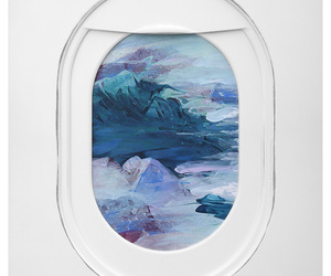 art, painting, and plane image