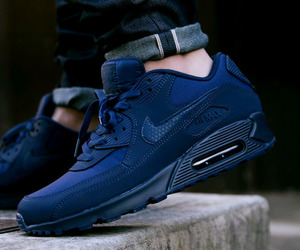 air max, blue, and boots image