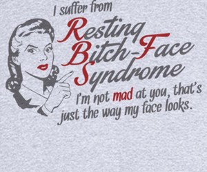 funny, bitch, and face image