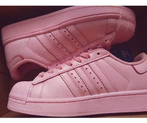 adidas, pale pink, and pink image
