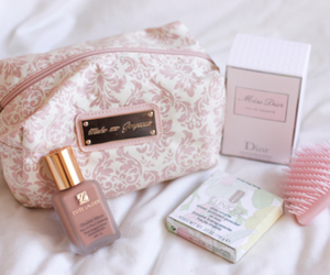 pink, make up, and beauty image