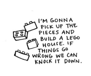 ed sheeran, lego house, and Lyrics image
