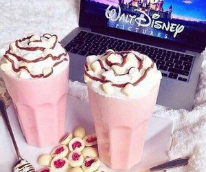 disney, food, and pink image