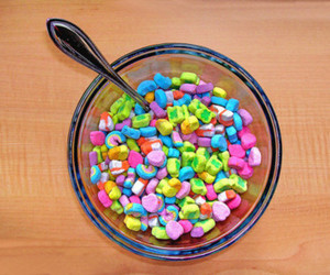 cereal, lucky charms, and food image