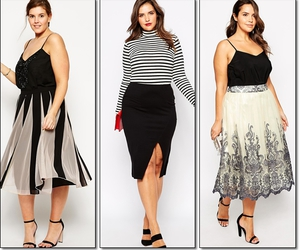 fashion, fat, and plussize image