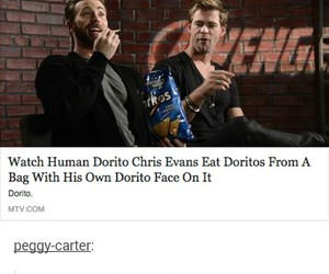 funny, chris evans, and tumblr image