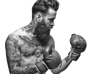 boxing and Tattoos image