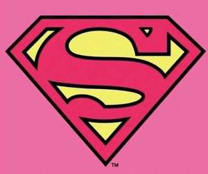 pink, superwoman, and wallpapers image