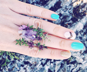 amethyst, blue, and chic image