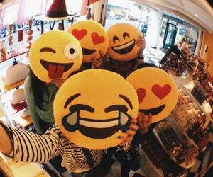 emoji, friends, and grunge image