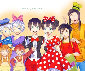 disney and anime image