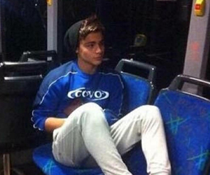 boy, Hot, and bus image