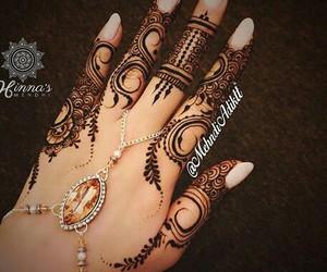 beautiful, henna, and tattoo image
