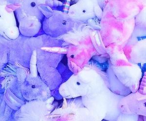 unicorn, purple, and pink image