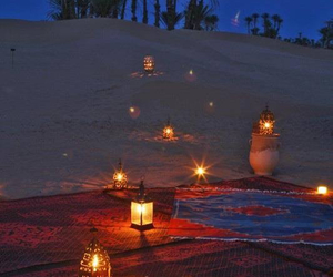 couple, night, and romantic image