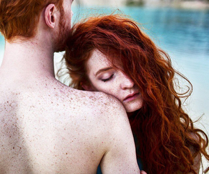 ginger, red head, and love image