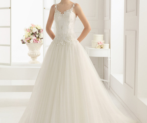 rosa clara, weding dress, and perfect image